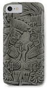 Tezcatlipoca And Huitzilopochtli IPhone Case by Photo Researchers