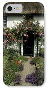Thatched Cottage, Carlingford, Co IPhone Case by The Irish Image Collection