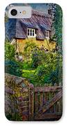 Thatched Roof Country Home IPhone Case