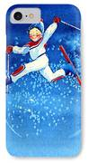 The Aerial Skier 16 IPhone Case
