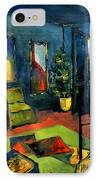 The Blue Room IPhone Case by Mona Edulesco