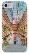 The Cleveland Arcade IIi IPhone Case by Clarence Holmes