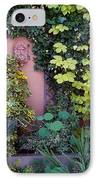 The Courtyard Garden, Fairfield Lodge IPhone Case by The Irish Image Collection