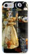 The Doll Salzburg IPhone Case by Mary Machare