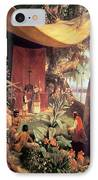 The First Mass Held In The Americas IPhone Case by Pharamond Blanchard