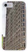 The Flat Iron Building IPhone Case