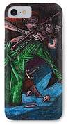 The Forest Lord Prevents A Rash Act IPhone Case by Al Goldfarb