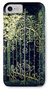The Gate In The Grotto Of The Redemption Iowa IPhone Case
