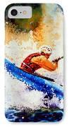 The Kayak Racer 17 IPhone Case by Hanne Lore Koehler