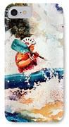 The Kayak Racer 18 IPhone Case by Hanne Lore Koehler