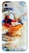 The Kayak Racer 19 IPhone Case