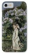 The Lilac Bush IPhone Case