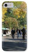 The Mall In Central Park IPhone Case