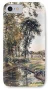 The Manor Farm IPhone Case