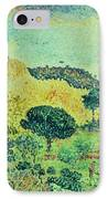 The Maures Mountains IPhone Case by Henri-Edmond Cross