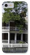 The Mclean House In Appomattox Virgina IPhone Case by Teresa Mucha