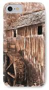The Mill At Cade's Cove IPhone Case