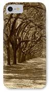 The Old South Series In Sepia IPhone Case