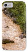 The Ourika River In Spate IPhone Case