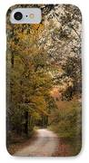 The Path Less Traveled 2 IPhone Case