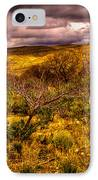 The Red Shed At Red Rock Canyon IPhone Case by David Patterson