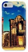 The Sombrero Bank In Old Tuscon Arizona IPhone Case by Susanne Van Hulst