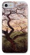 The Tree Of Crows IPhone Case by Caspar David Friedrich