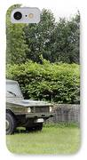 The Vw Iltis Jeep Used By The Belgian IPhone Case by Luc De Jaeger