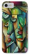 The Wall IPhone Case by Michael Lang
