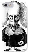 Thomas Hobbes, Caricature IPhone Case