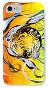 Three In A Row ... Three IPhone Case by J Vincent Scarpace