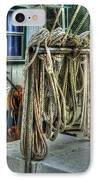 Tied Up Lines IPhone Case by Michael Thomas