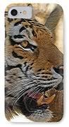 Tiger De IPhone Case by Ernie Echols