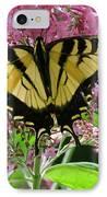 Tiger Swallowtail Butterfly IPhone Case by Randi Shenkman