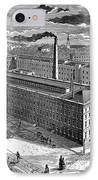 Tobacco Factory, 1876 IPhone Case by Granger