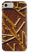 Tobacco Mosaic Virus IPhone Case by Omikron