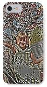 Tomboy In The Tree IPhone Case by Randall Branham