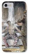 Torture At Sing Sing C1869 IPhone Case by Granger
