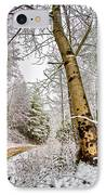 Touch Of Gold IPhone Case by Debra and Dave Vanderlaan