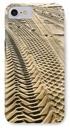 Tracks In . Sand IPhone Case by Sam Bloomberg-rissman