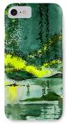 Tranquil 1 IPhone Case
