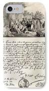 Treaty Between William Penn IPhone Case