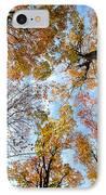 Treetops IPhone Case by Elena Elisseeva