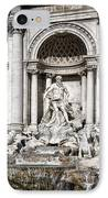 Trevi Fountain Detail IPhone Case