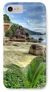 Tropical Beach IPhone Case by Adrian Evans