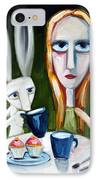 Two Cup Cakes IPhone Case by Leanne Wilkes