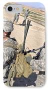 U.s. Army Soldiers Call In An Update IPhone Case