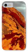 Valley Of Fire - Born To Be Wild IPhone Case by Christine Till