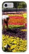 Van Gogh At The Biltmore IPhone Case by David Bearden