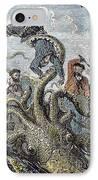 Verne: 20,000 Leagues, 1870 IPhone Case